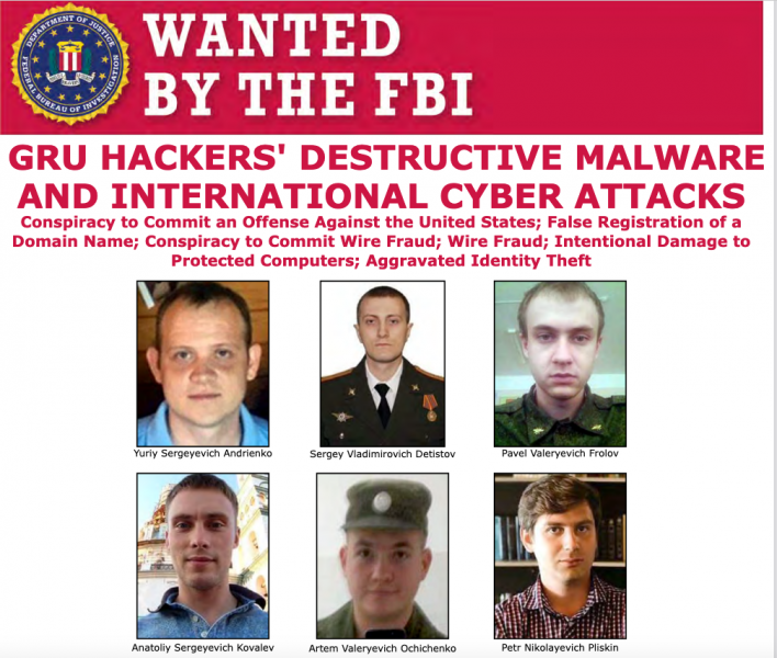 Russian hackers charged