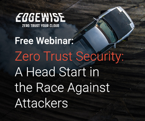 Zero Trust Security Webinar